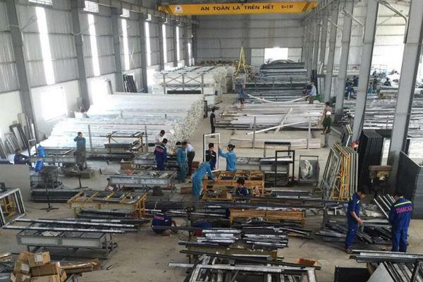 Cơ sở sản xuất nhôm